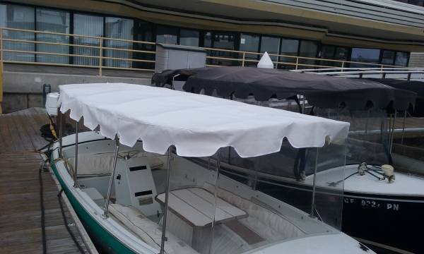 Newport Upholstery Bimini Canopy