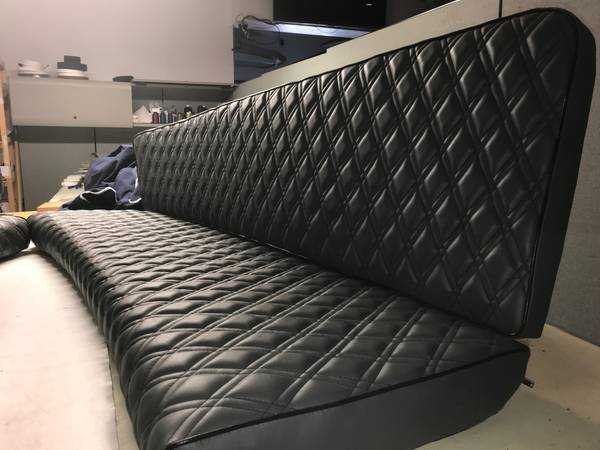 Newport Upholstery Duffy Seats Hand stitched
