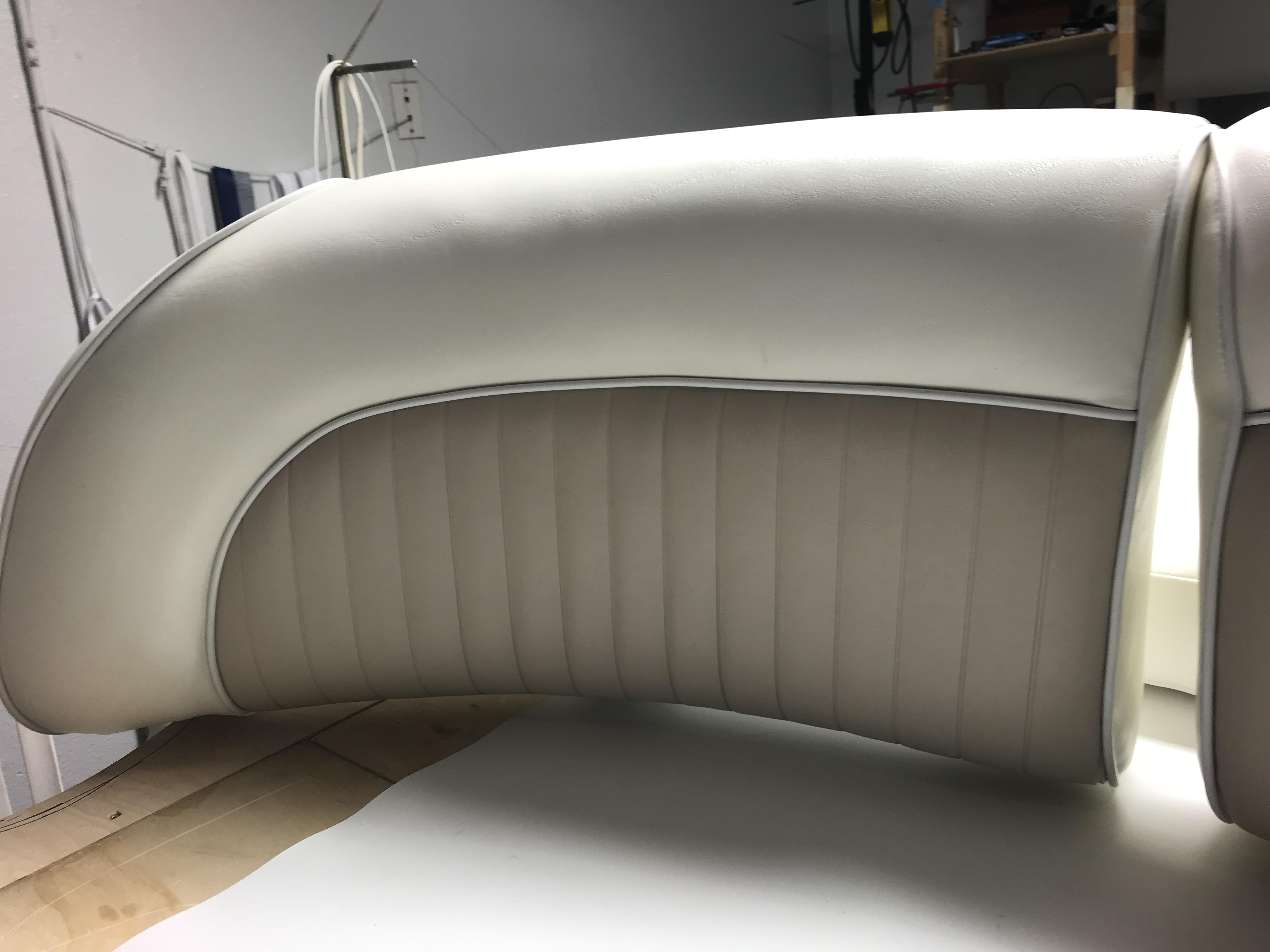 Newport Upholstery Custom Yacht Seats