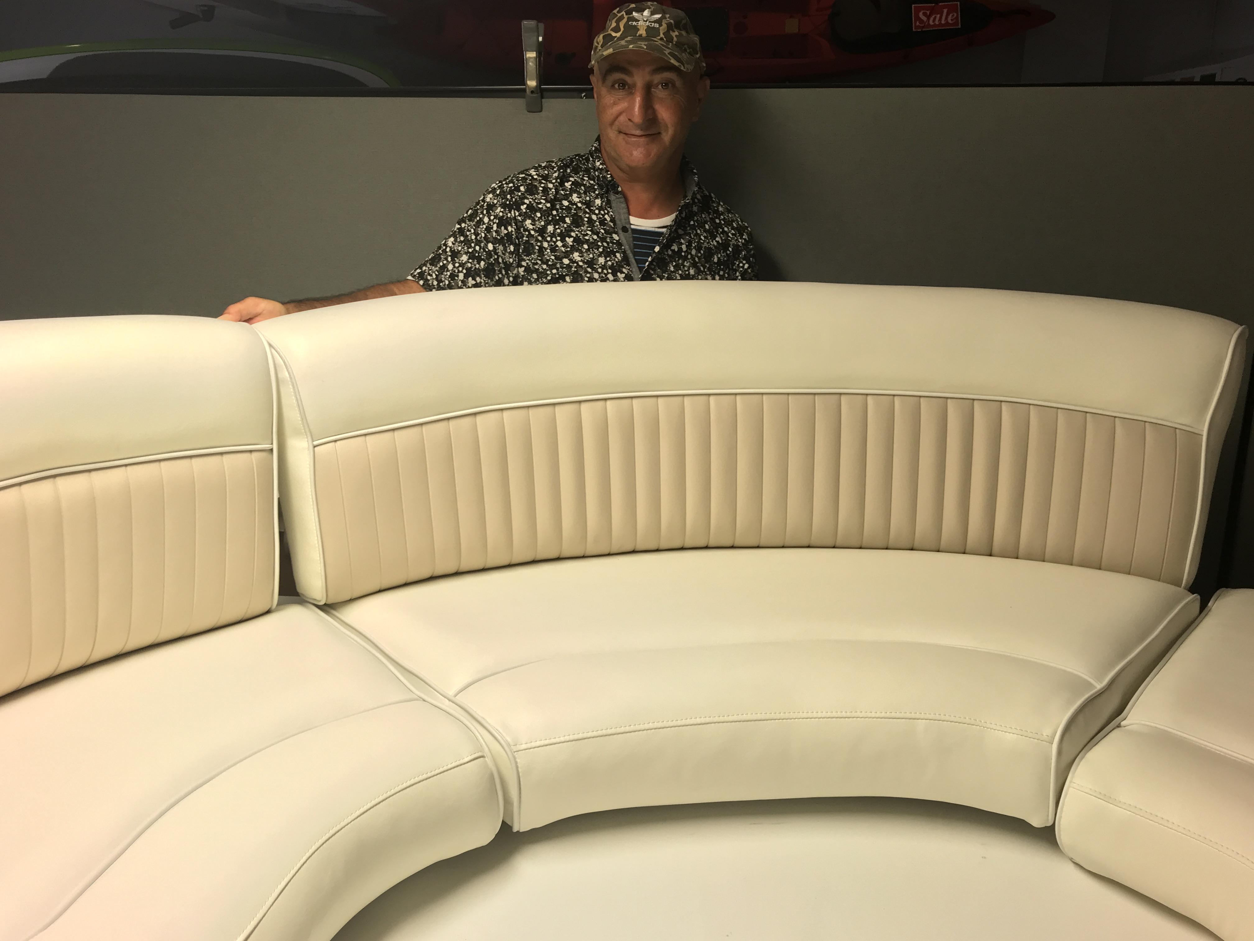 Newport Upholstery Yacht Seats